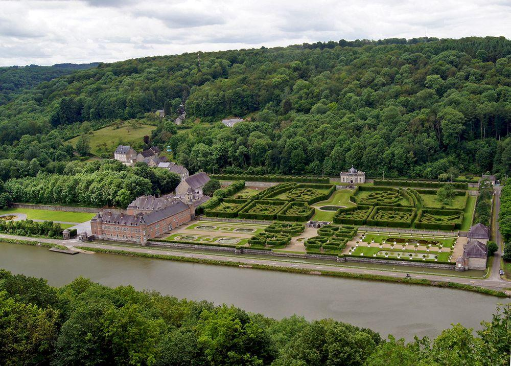 Freÿr Castle and gardens, Belgium