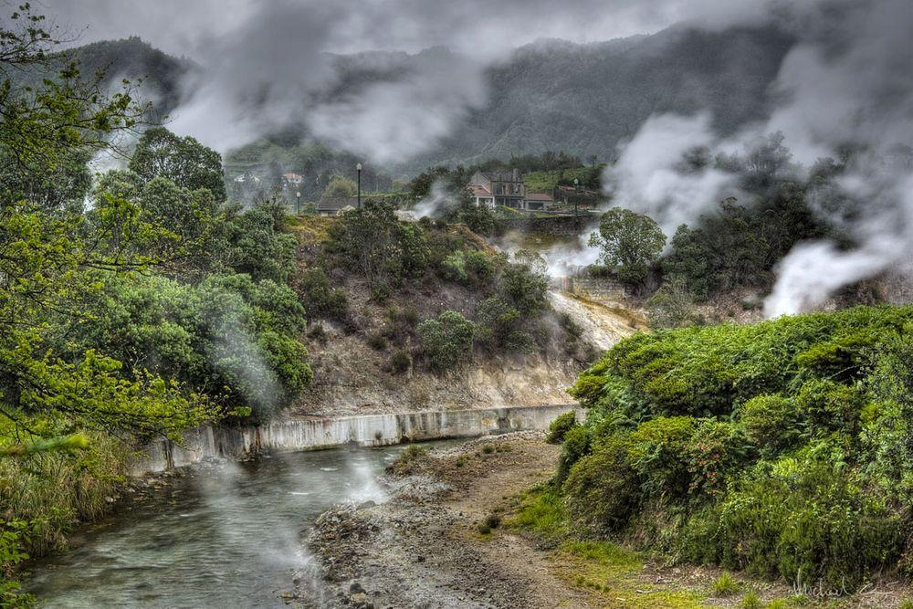 Furnas geothermal field, Azores