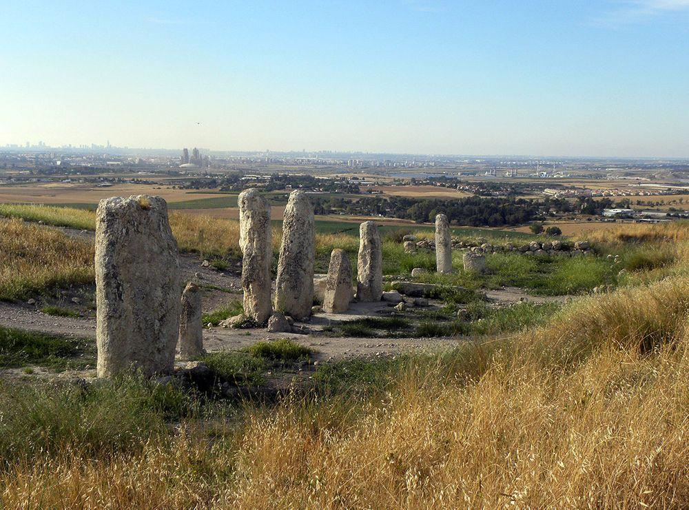 Megaliths in Gezer, Israel