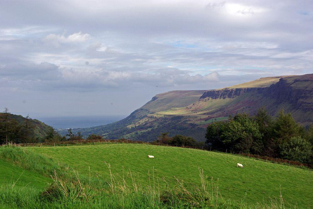 Glenariff Glen scenery, Northern Ireland
