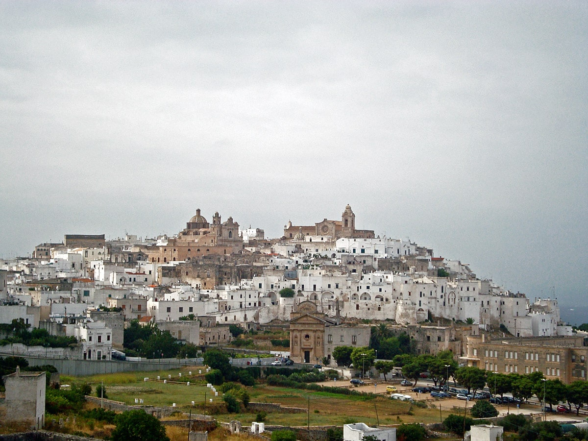 Medieval centre of Ostuni