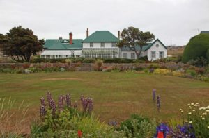 Government House in Stanley, Falkland Islands