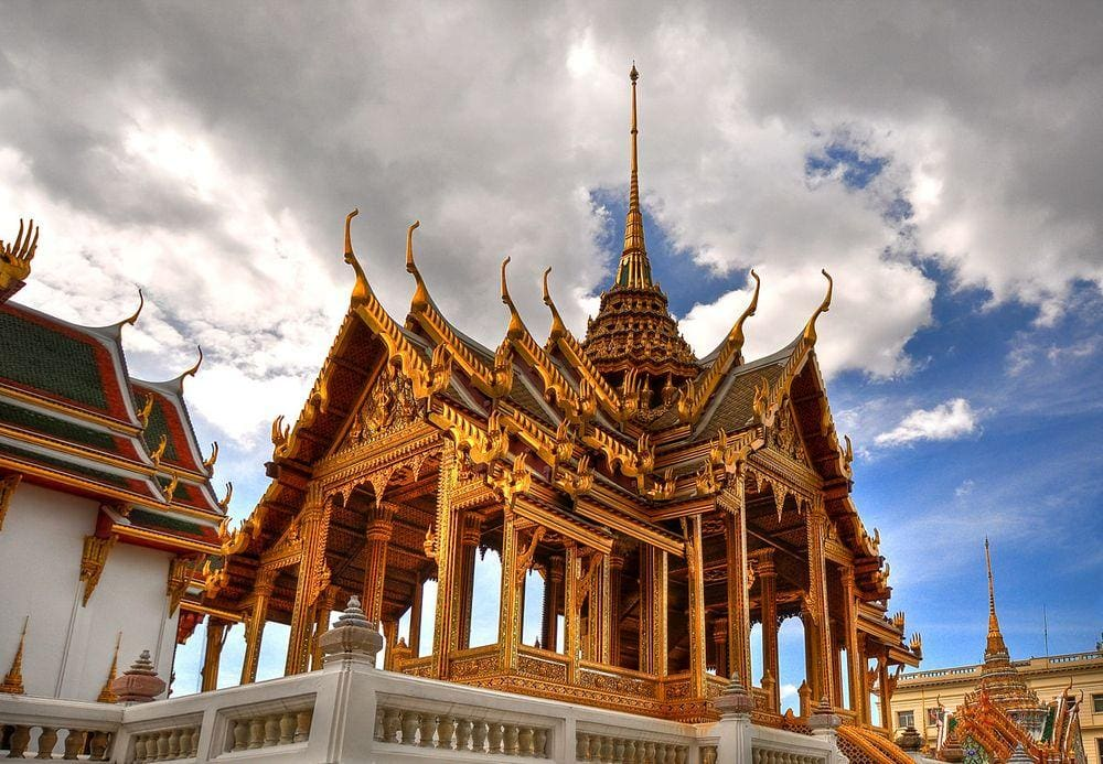 Pavillion in Grand Palace, Bangkok