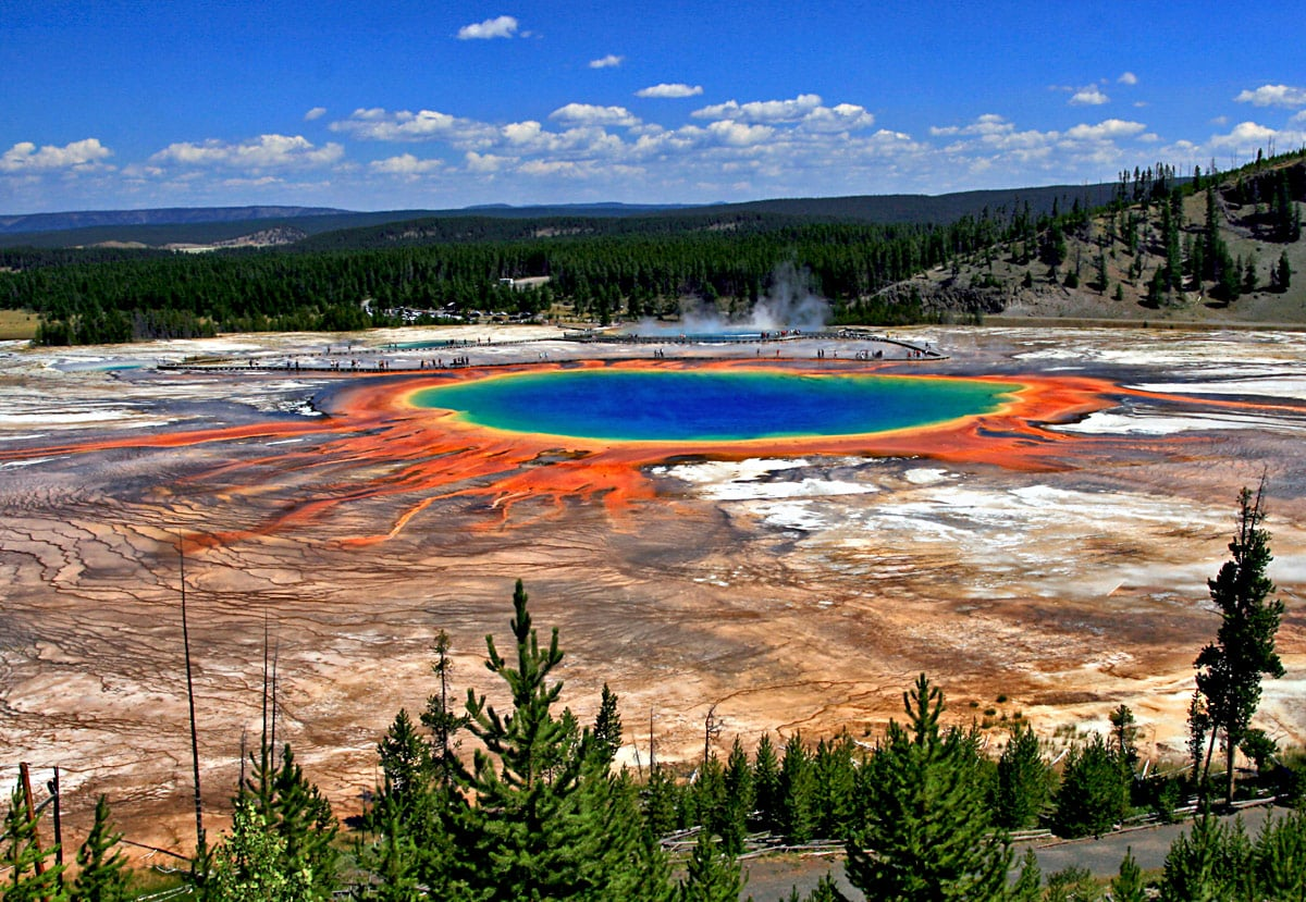 Grand Prismatic Spring, United States, Wyoming