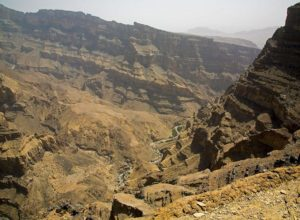 Grand Canyon of Wadi Ghul, Oman