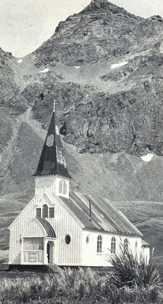 Grytviken Church before 1915, South Georgia