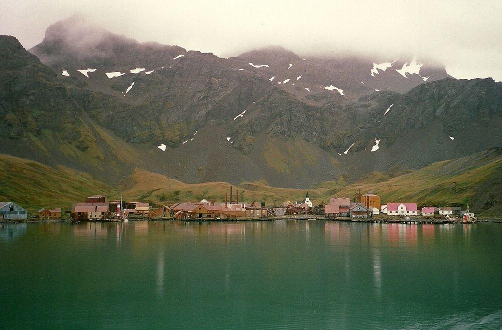 Grytviken in South Georgia