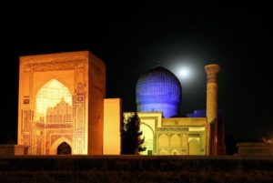 Gur-E-Amir, tomb of Tamerlan in Samarkand