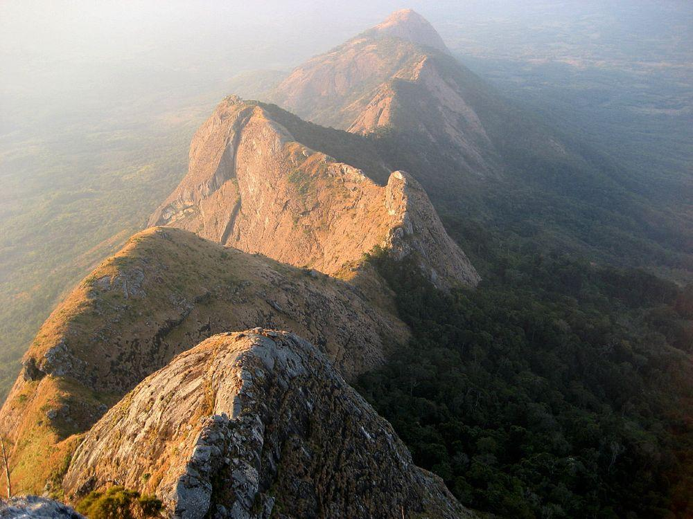 Gurungue mountain chain - one of many little explored mountains in Mozambique