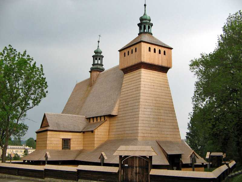 Haczów Church, Poland