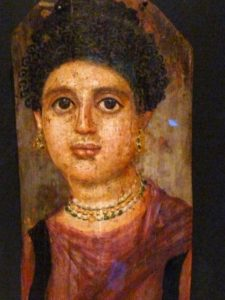 Painting of women from Hawara, Egypt - 1800 years old art