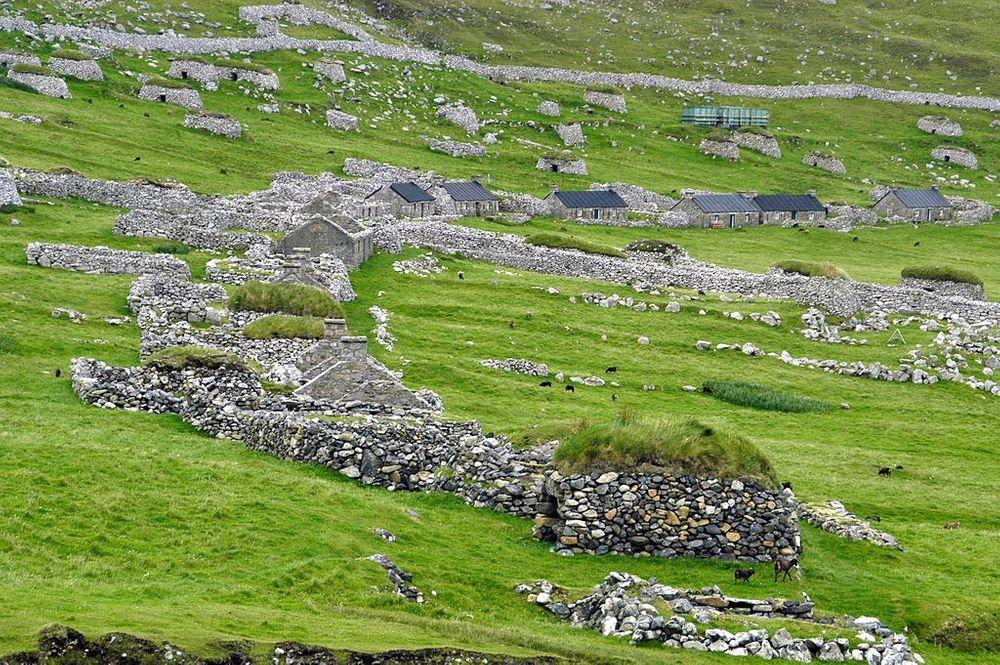 Hirta medieval village, St. Kilda Islands