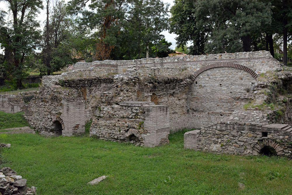Roman structure in Hisarya, Bulgaria