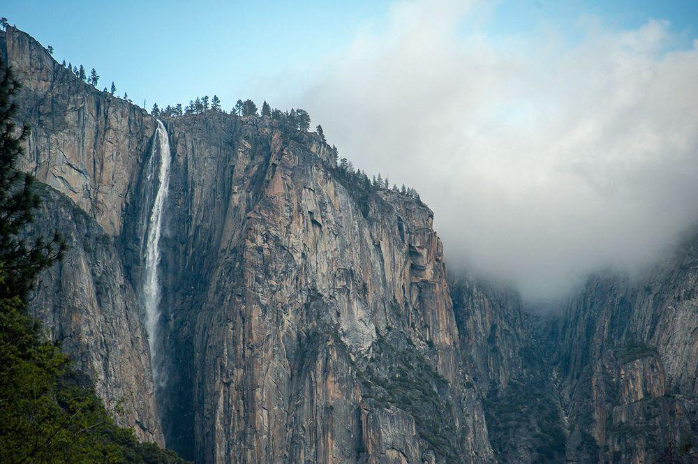 Yosemite Horsetail Fall, California