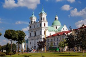 Hrodna Cathedral of Saint Francis Xavier, Belarus