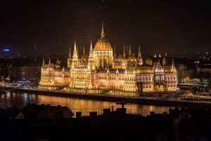Hungarian Parliament Building in Budapest - one of the greatest Neo-Gothic structures in the world