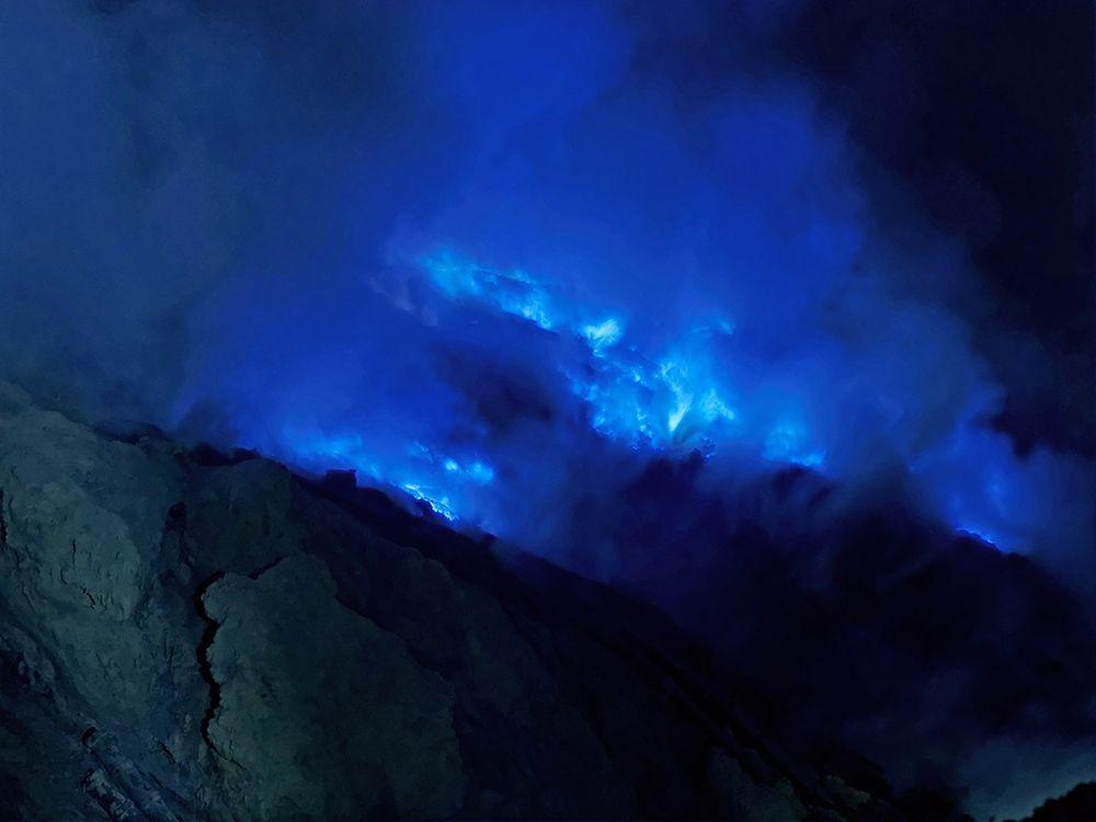 The blue fire of Kawah Ijen, Indonesia