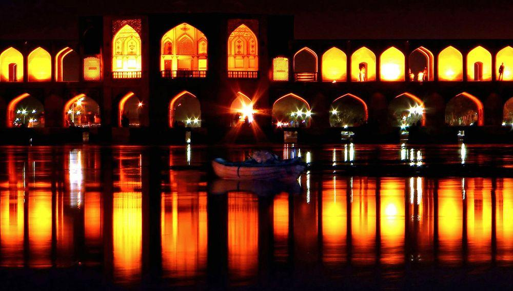 Khaju bridge in Isfahan, Iran