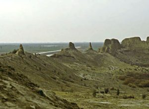 Remnants of Izmukshir fortress, Turkmenistan