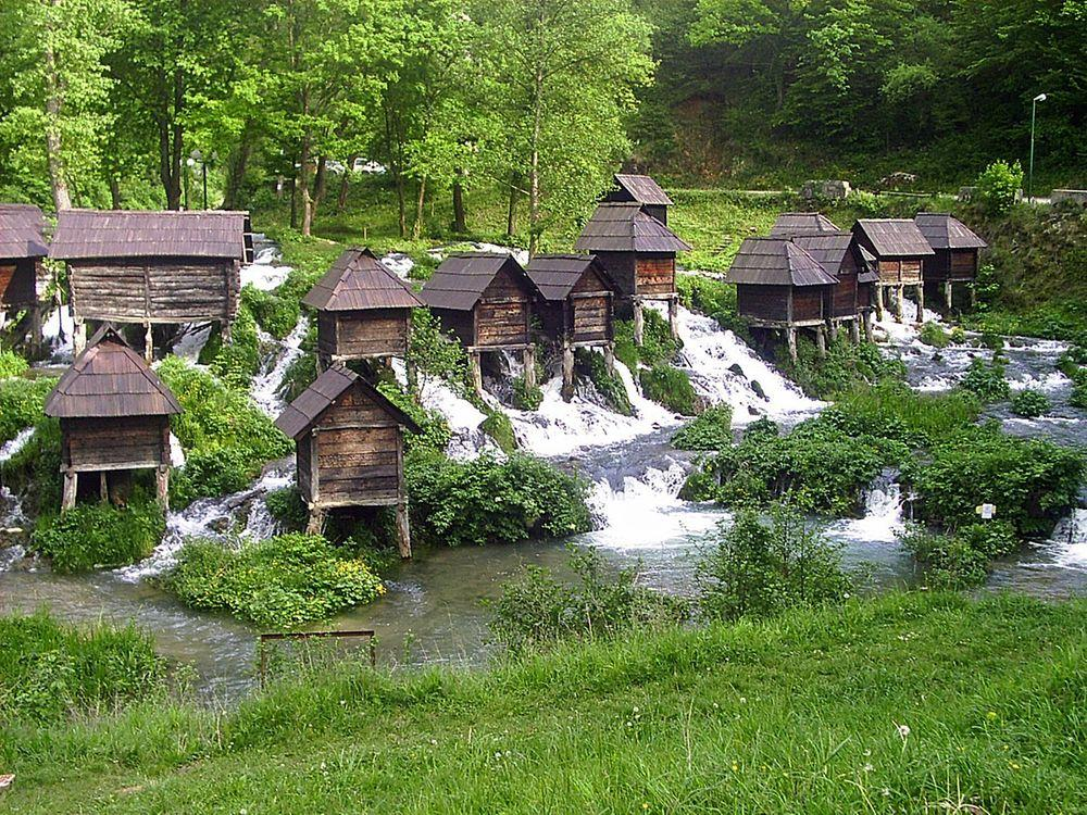Mlinčići in Jajce, Bosnia and Herzegovina