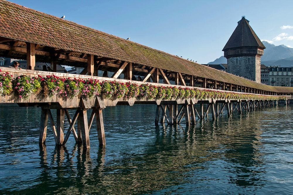 Kapellbrücke, Switzerland