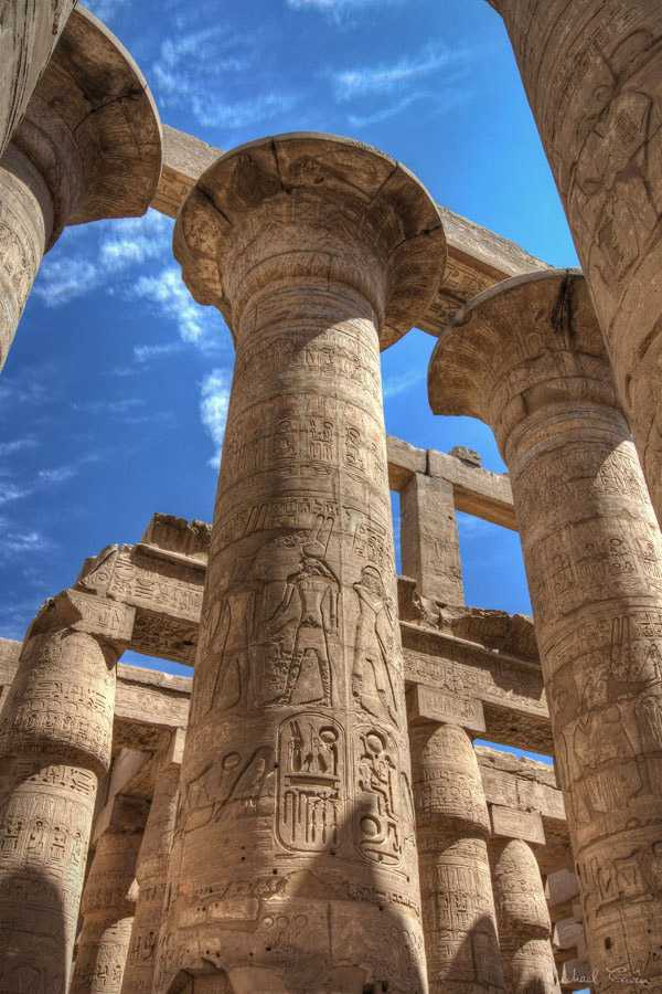 Karnak Temple in Thebes