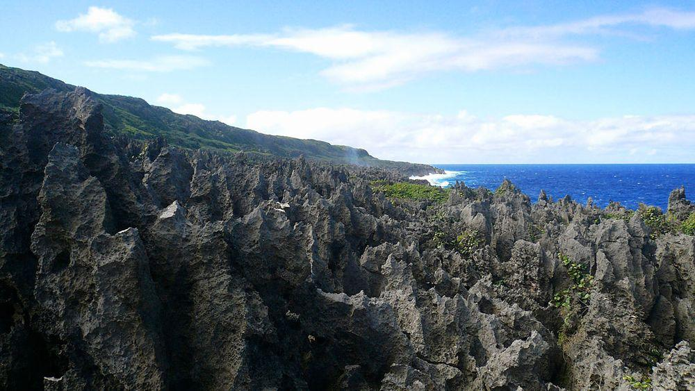 Karst landscape at Huvalu Forest, Niue