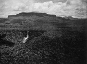 King Edward VIII Falls in the 1930s, Guyana