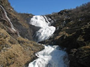 Kjosfossen in Norway