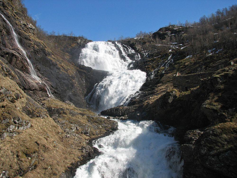 Kjosfossen in Norway
