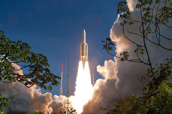 Launch of Ariane 5, Kourou