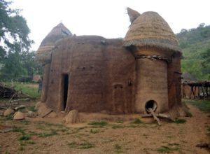 Mud house in Koutammakou, Togo