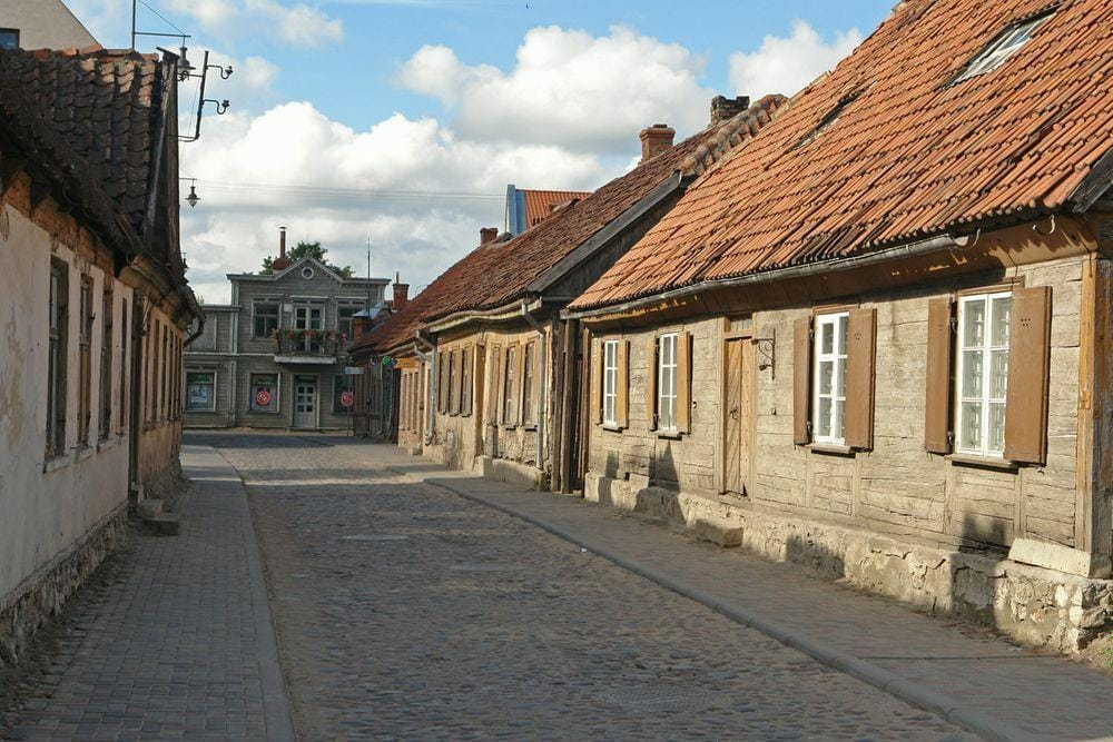 Kuldiga Old City, Latvia