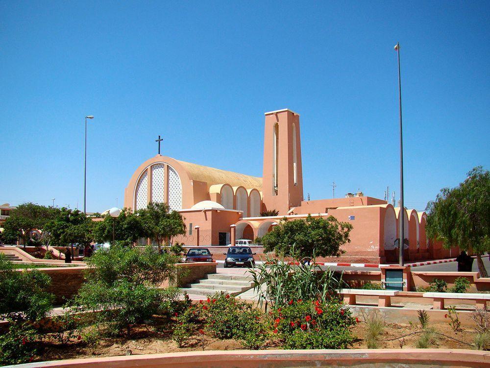 El Aaiún Cathedral in 2011, Western Sahara