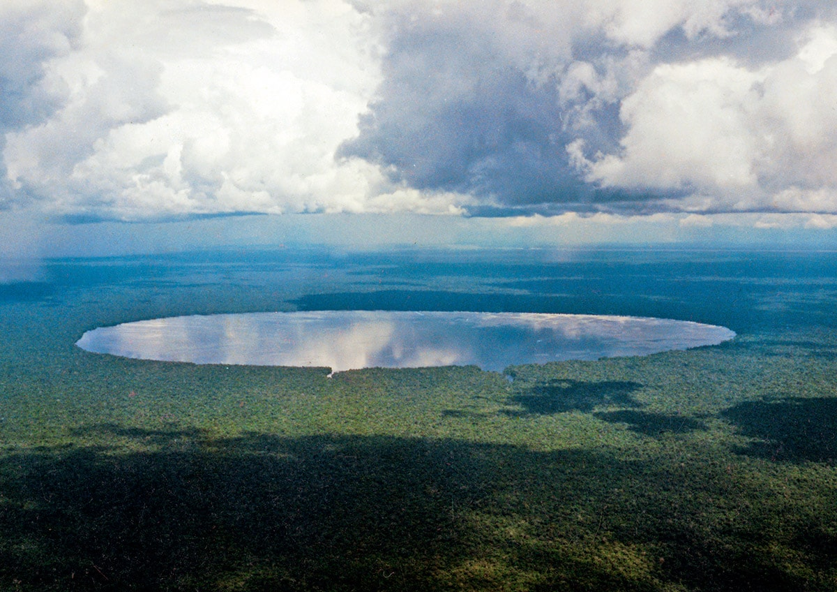 Mysterious Lake Tele, Republic of Congo