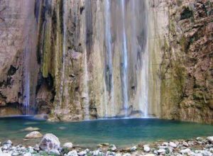 Lamadaya - base of waterfalls. Somalia