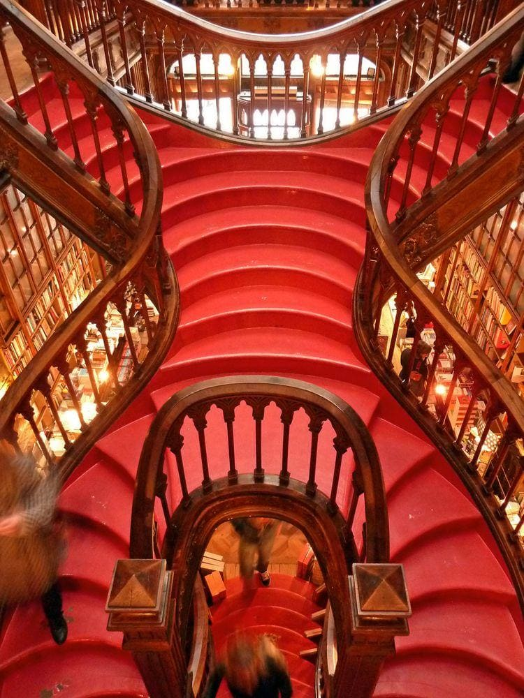 Lello Bookstore, Portugal