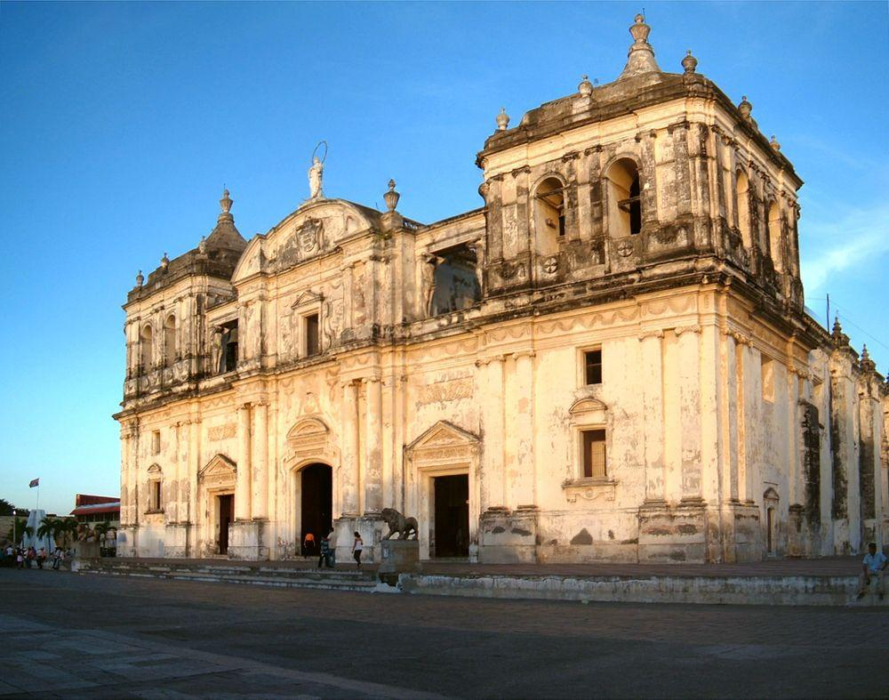 Cathedral of the Assumption, León in Nicaragua