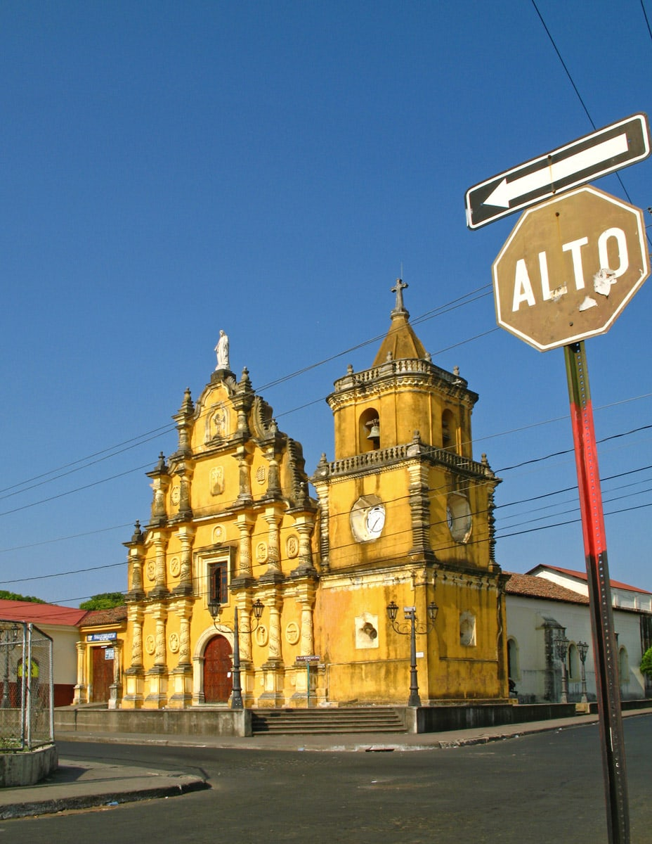Church of Recollection in León, Nicaragua