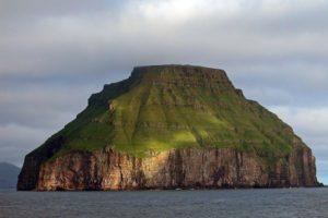 Lítla Dímun island, Faroe Islands