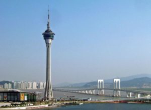 Macau Tower and Sai Van Bridge