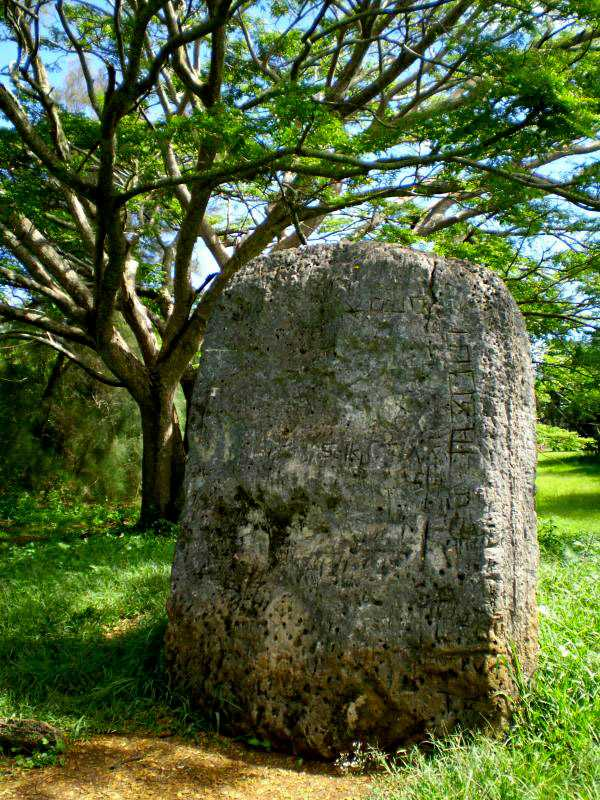 'esi Maka Fa'akinanga - a throne of king, Tonga