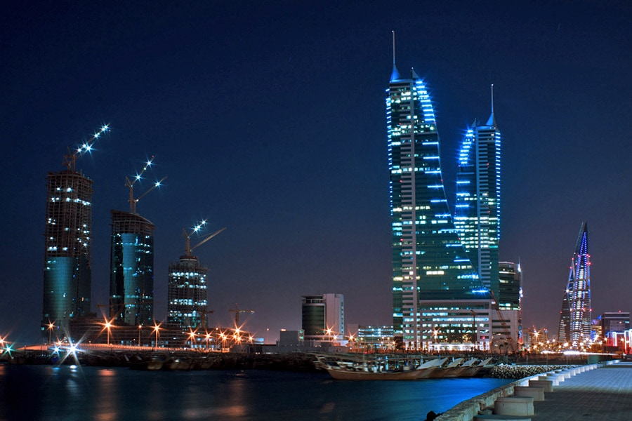 Skyline of Manam, Bahrain