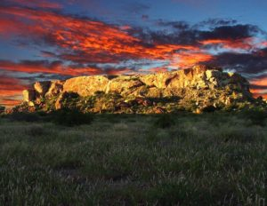 Mapungubwe Hill - site of the first capital in southern part of Africa