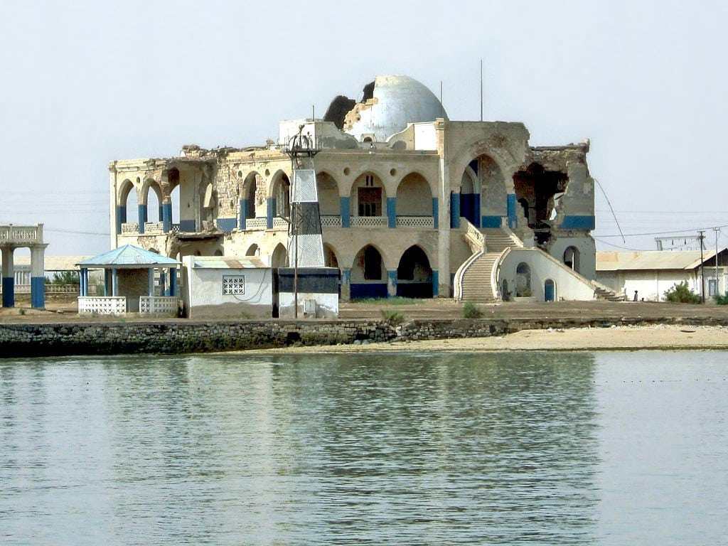 Imperial Palace in Massawa, Eritrea