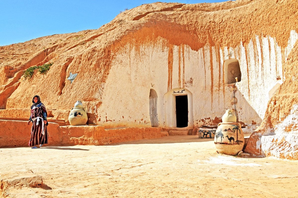 Matmâta underground houses, Tunisia