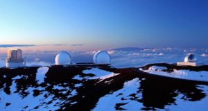 Observatories on the summit of Mauna Kea, Hawai'i