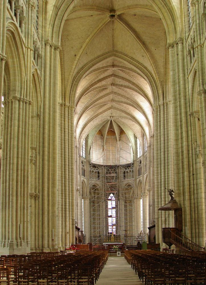 Meaux Cathedral, interior