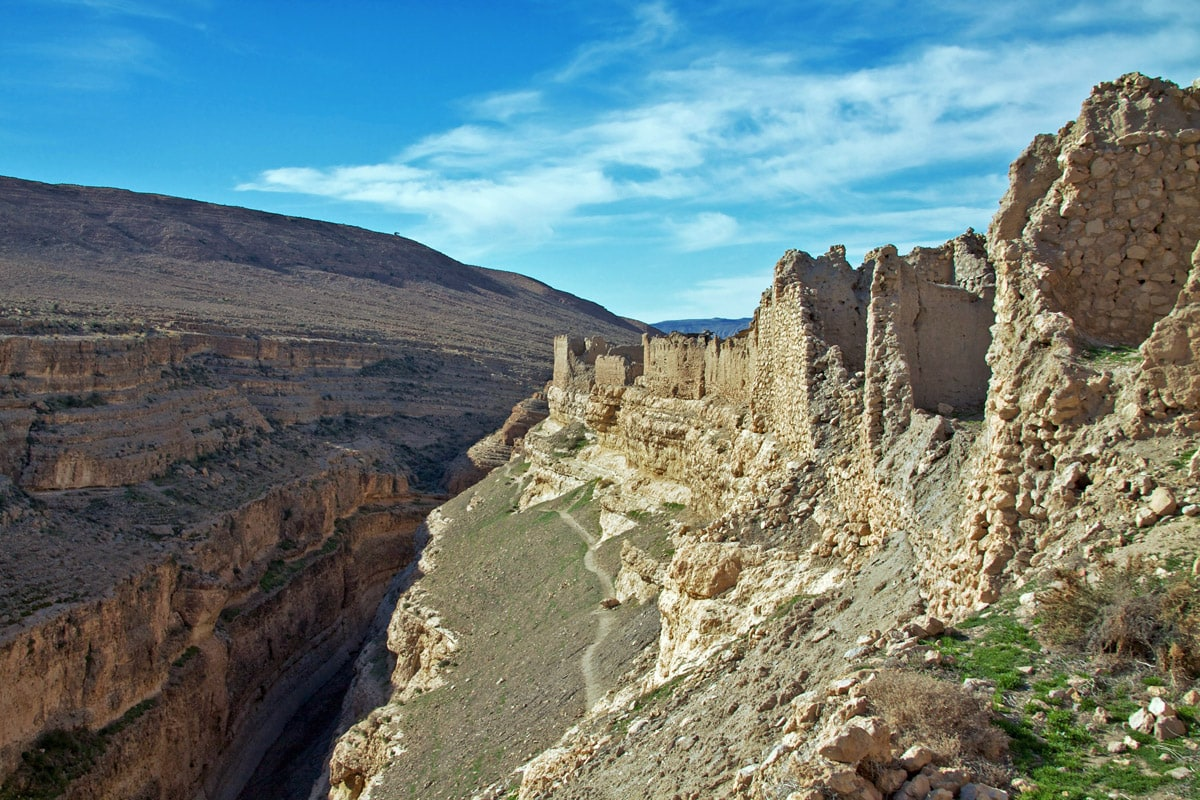Mides Gorge and fortifications, Tunisia