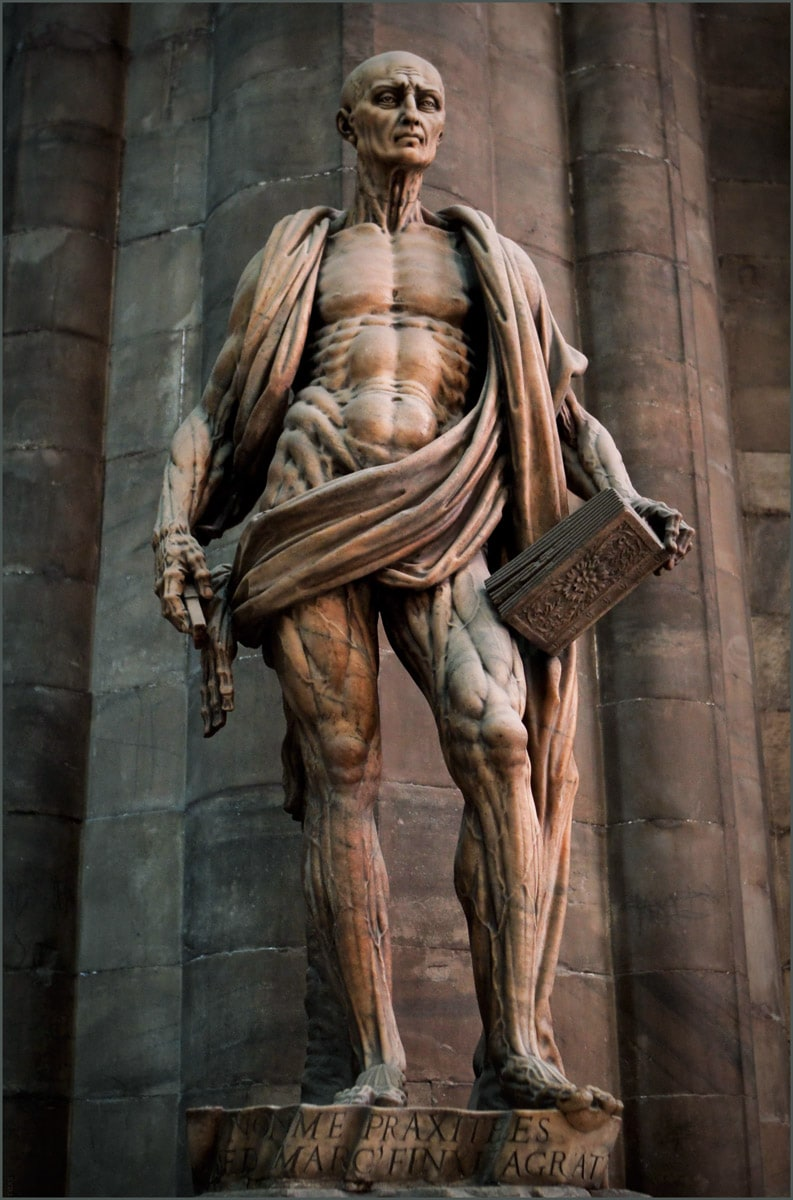 Statue of St. Bartholomew Flayed, Milan Cathedral